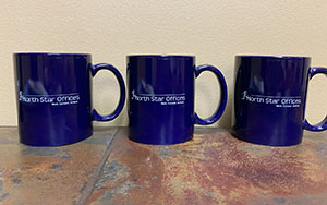 North Star Offices mugs